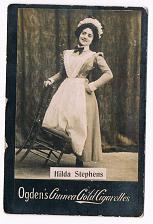Buy Ogden's Guinea Gold Cigarettes Tobacco Card Hilda Stephens Maid Vintage