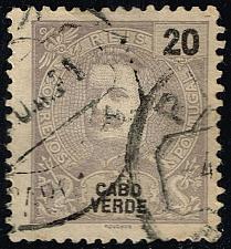 Buy Cape Verde #41 King Carlos I; Used (2Stars) |CPV0041-05XRS