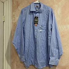 Buy Van Heusen Flex collar regular fit Blue plaid