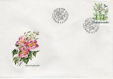 Buy CZECHOSLOVAKIA - 1990 Flowers FDC7733