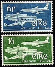 Buy IRLAND IRELAND [1961] MiNr 0148-49 ( **/mnh ) Flugzeug