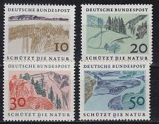 Buy GERMANY BUND [1969] MiNr 0591-94 ( **/mnh ) Landschaft
