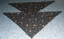 Buy Two Brand New Pumpkins and Stars Design Dog Bandanas For Dog Rescue Charity
