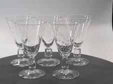 Buy Reizart Nydia Cut glass sherry stem Hand cut 947 Starlight