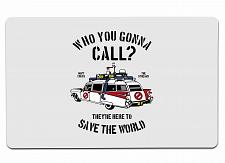 """Buy Who You Gonna Call Large Mouse Pad 10"""" x 16"""" Mat Placemat Pop Culture Inspired N"""