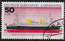 Buy GERMANY BUND [1977] MiNr 0931 ( O/used ) Schiffe