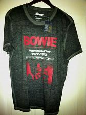 Buy Lucky Brand Men`s L David Bowie Ziggy Stardust Tour 1972-1973 Tee New With Tag`s