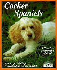Buy Complete Pet Owners Manual Cocker Spaniels By Jaime Sucher 4 Dog Rescue Charity