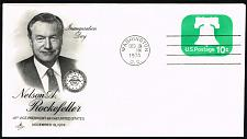 Buy Nelson A. Rockefeller VP Inauguration Day Cover by Artcraft |USACVRLOT-15XDP