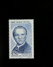 Buy 1998 France Father Franz Stock, Prison Chaplain Scott 2632 Mint F/VF NH
