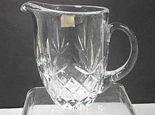 Buy Signed Lenox HAND Cut glass Charleston Crystal pitcher Made in USA