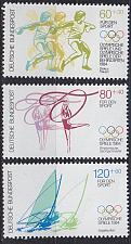 Buy GERMANY BUND [1984] MiNr 1206-08 ( **/mnh ) Olympiade