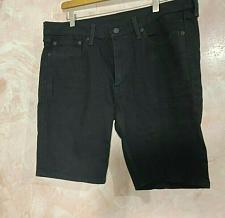 Buy Levi Strauss & Co 511Size w36 denim Black shorts Worn once