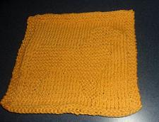 Buy Brand New Hand Knit Australian Shepherd Cotton Dish Cloth For Dog Rescue Charity