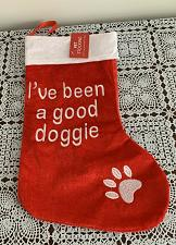 Buy Brand New Dog Christmas Stocking Been A Good Doggie Design 4 Dog Rescue Charity