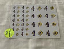 Buy Defiance College Yellow Jackets Ohio Scrapbooking Stickers 4 Dog Rescue Charity
