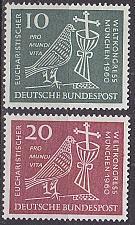 Buy GERMANY BUND [1960] MiNr 0330-31 ( **/mnh ) Religion