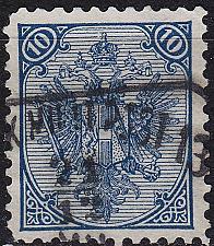 Buy ÖSTERREICH AUSTRIA [BosHerz] MiNr 0005 II/I A ( O/used )