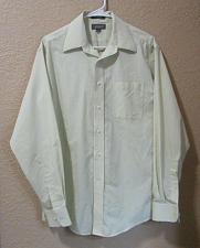 Buy Croft & barrow Men's Mint Green button front dress Shirt Size 15 1/2 34/35