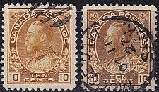 Buy KANADA CANADA [1922] MiNr 0113 ( O/used ) [01] 2 Farben