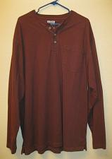 """Buy Duluth Trading Co. Men's Size Large """"Longtail T"""" Long Sleeve Collared L"""