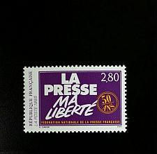 Buy 1994 France French National Press Federation, 50th Scott 2448 Mint F/VF NH