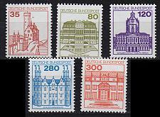 Buy GERMANY BUND [1982] MiNr 1139-43 ( **/mnh ) Bauwerke