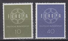 Buy GERMANY BUND [1959] MiNr 0320-21 ( **/mnh ) CEPT