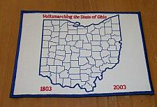 Buy Brand New Volksmarching The State Of Ohio Large Patch For Dog Rescue Charity