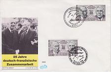 Buy GERMANY BUND [1988] MiNr 1351 FDC I ( FDC ) Deutschland + Frankreich