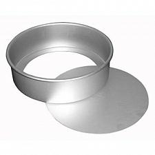 Buy Fat Daddio's PCC-73 Round Cheesecake Pan, 7 x 3 Inch, Silver
