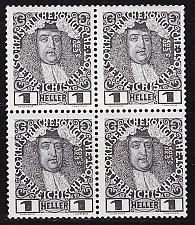 Buy ÖSTERREICH AUSTRIA [1908] MiNr 0139 ( **/mnh ) [01] 4er