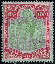 Buy Bermuda #96 King George V; Used (1Stars) |BER0096-01XVK