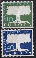 Buy GERMANY BUND [1958] MiNr 0295-96 ( **/mnh ) CEPT
