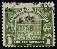 Buy Ecuador #RA10 Post Office; Used |ECURA10-07XBC