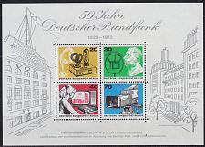 Buy GERMANY BERLIN [1973] MiNr 0455-58 Block 4 ( **/mnh )