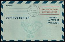 Buy Germany-Allied Zone Mi LF2II Aerogramme; Used (MCV 150) (4Stars) |DEUMiABLF2II-01XDP