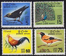 Buy CEYLON SRI LANKA [1966] MiNr 0340-43 ( **/mnh ) Vögel