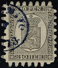 Buy Finland #13 Coat of Arms; Used (1Stars) |FIN0013-01XDP