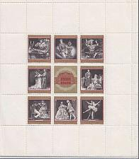 Buy ÖSTERREICH AUSTRIA [1969] MiNr 1294-01 Kleinbogen ( **/mnh ) Oper