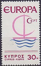 Buy ZYPERN CYPRUS [1966] MiNr 0271 ( **/mnh ) CEPT
