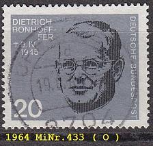 Buy GERMANY BUND [1964] MiNr 0433 ( O/used )