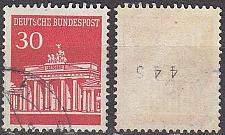 Buy GERMANY BUND [1966] MiNr 0508 vR ( O/used ) [01]