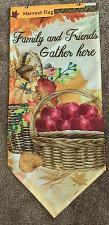 Buy Brand New Fall Harvest Friends Gather Here Mini Garden Flag 4 Dog Rescue Charity