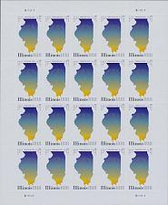 Buy 2018 50c Illinois Statehood, 200th Anniversary, Sheet of 20 Scott 5274 Mint NH