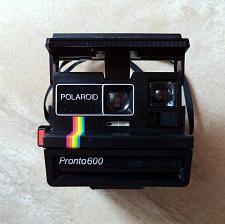 Buy Polaroid Pronto 600 Land Camera, Rainbow. Vintage instant camera