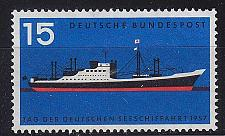 Buy GERMANY BUND [1957] MiNr 0257 ( **/mnh ) Schiffe
