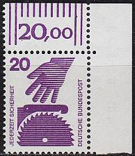 Buy GERMANY BUND [1971] MiNr 0696 A ORand ( **/mnh )