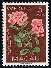 Buy Macao #374 Dragon Claw Flower; Unused (1Stars) |MAC0374-01