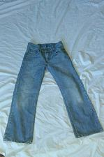 Buy Levi Boys' Light Washed Denim Jeans- Size 10 Reg. 25 X 25